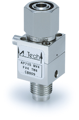 AZ3652 with FV4 inlet, MV4 outlet