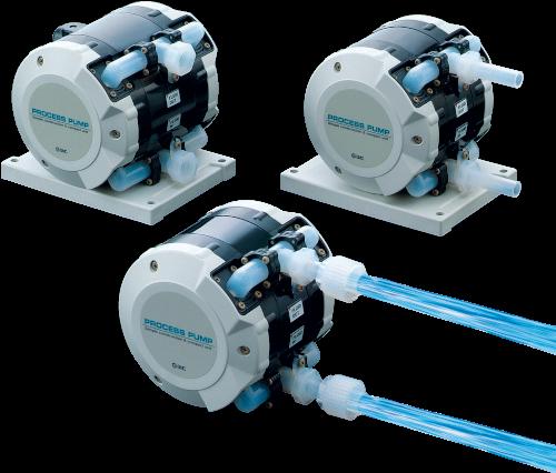 SMC Fluidcontrol: Pumpen für aggressive Chemikalien