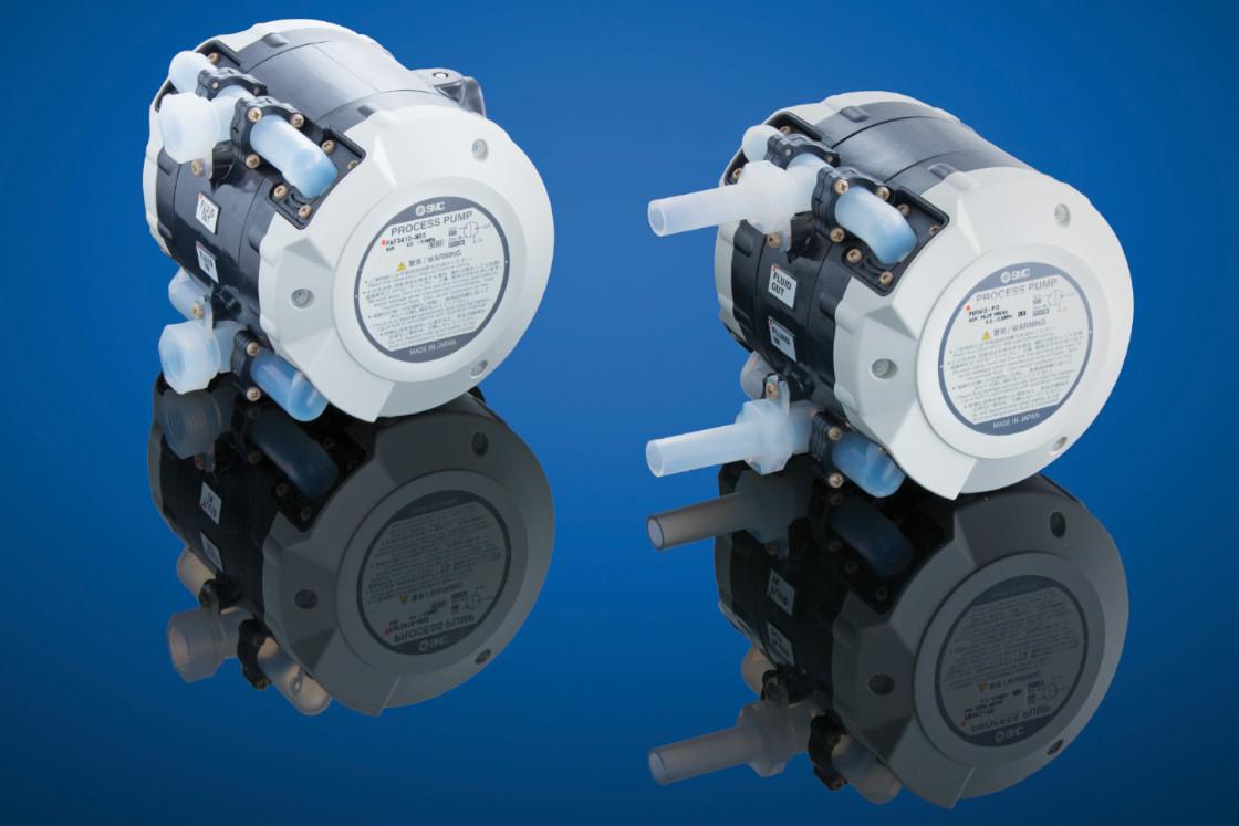 Pumpen für aggressive Chemikalien von SMC Fluidcontrol