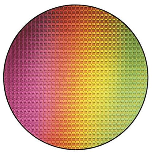 Silizium-Wafer von Intel Quelle: Intel