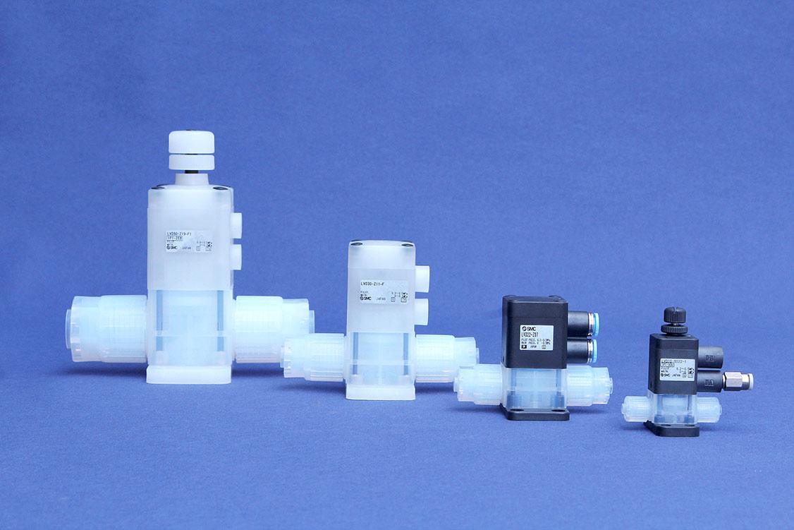 Nadelventile und Chemieventile von SMC sorgen für Sicherheit in der chemischen Industrie
