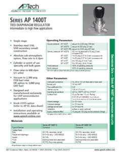 SerieS AP 1400T