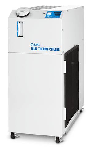 HRLE, Thermo-Chiller für zwei Kreise von 8,0 – 9,5 kW, Grundausführung