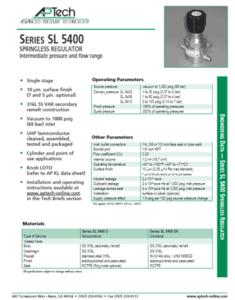 SerieS SL 5400