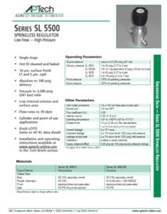 SerieS SL 5500