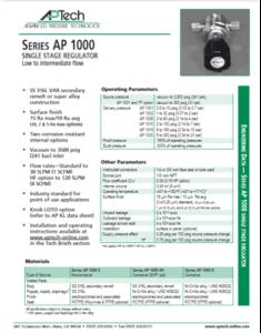 SerieS AP 1000
