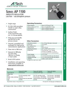 SerieS AP 1100