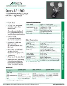 SerieS AP 1500