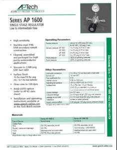 SerieS AP 1600