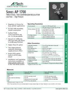 SerieS AP 1700