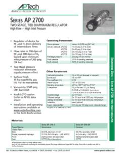 SerieS AP 2700