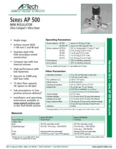 SerieS AP 500