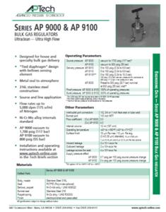 SerieS AP 9000 & AP 9100