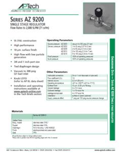 SerieS AZ 9200
